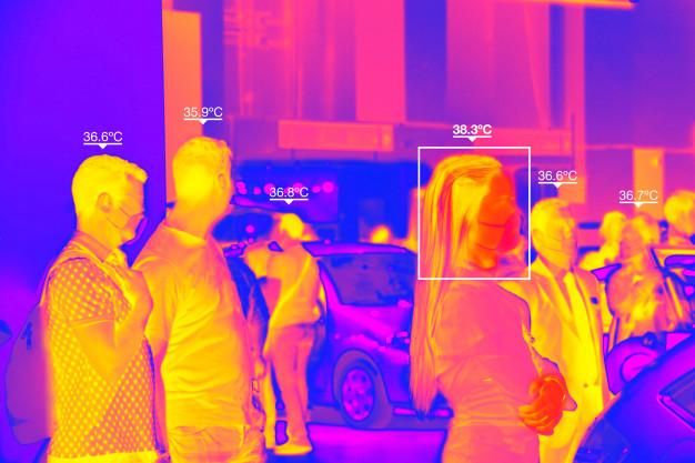 Termogramas o cámaras termicas anti Covid19 en Sevilla